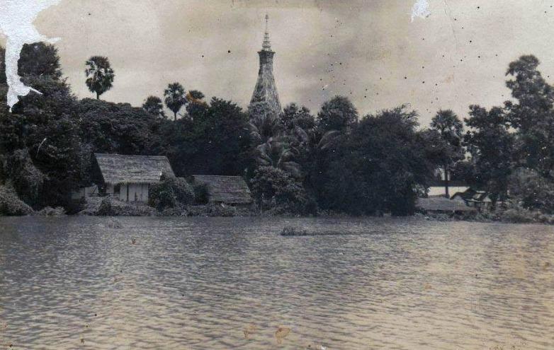 แม่น้ำโขง ท่วมธาตุพนม